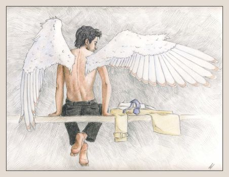 Castiel, Angel of the Lord by Umino-aka-Morskaya