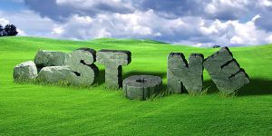 Cracked Stone Text in Photoshop and Cinema 4D by Designslots