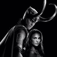 Loki and Jane by DaniRoxie83