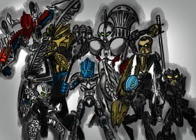 Order of Mata nui by viochroniko