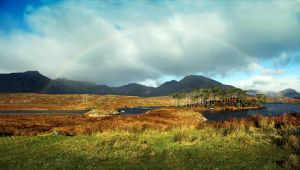 Connemara Rainbow by WDJPhotography