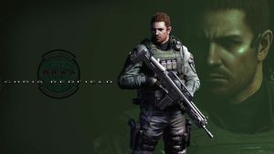 RE6 Chris Redfield Wallpaper Pack by FadedBlackangel