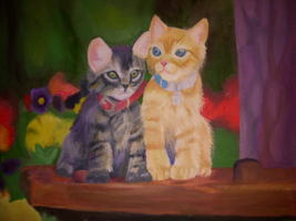 Kittens - Not finished by Kizah