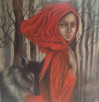 litlle red riding hood by stooge11