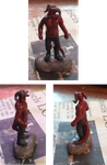 35mm Tiefling Warlord Miniature by TaraPrince