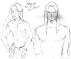 Jacob Black - sketches by Minelaaa