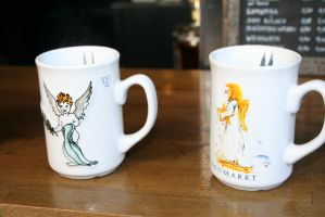 nice cups from cologne by ingeline-art