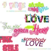 textos png by SweetsBlue