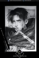 Younger Levi/Rivaille - pencil- by Rakisan-Art