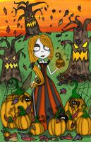 Pumpkin Girl-Halloween little horror edition by Little-Horrorz