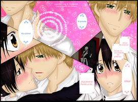Kaichou Wa Maid Sama Misaky and Usui by themisaki66