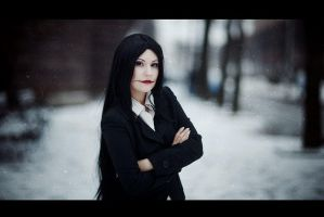 In the town by Lady-I-Hellsing