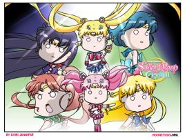 Sailor Moon Crystal Black Moon Arc by Chibi-Jennifer