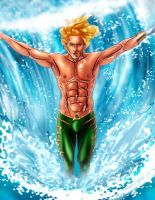 AquaMan by byron179