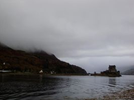 Castle by the Loch by Flutterby101