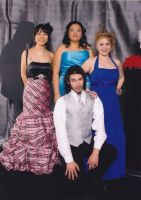 prom: the group by westend-stock
