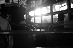 In the bus 1 by Gothumanity