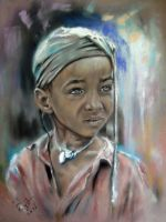 Tigray Child by astarvinartist