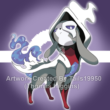 Fakemon - Spectreon by Tails19950
