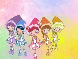 ojamajo doremi Yume shiawase by techfreak107