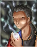FFX - Auron - The Hermit by nightambre