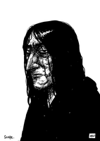 Severus Snape by TheWoodenKing