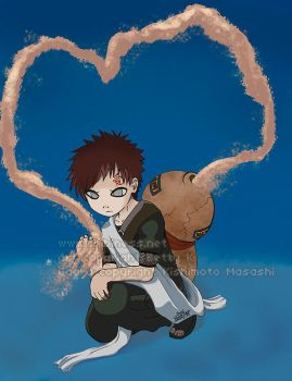 Lonely Gaara by BettyKwong