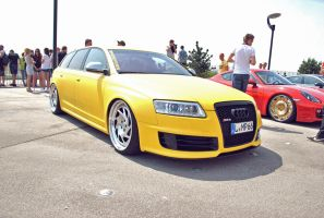 RACEISM Event 2014 - Audi RS6 Yellow by 2micc