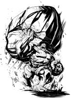 Hulk Toss by jonathan-rector