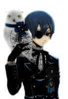 ciel and owl by sanakakung