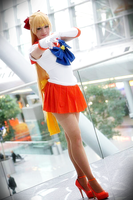 Sailor Venus Cosplay by Yuusei90