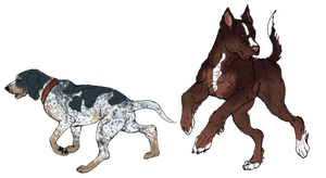 Remington and Asteron minis by Nessbeast