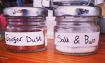 Supernatural Jars: Goofer Dust And Salt and Burn by Jack-O-AllTrades