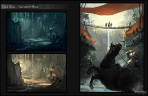 3 Guerreros Narrative shots by EleosInteractive