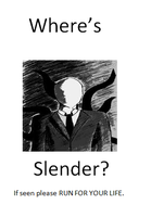 Missing Slender Poster by IILerpMuffinII