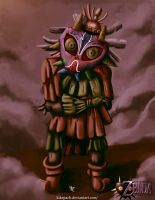 Skull Kid TLOZ: Majoras Mask by KikePach