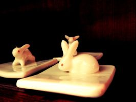 Bunnies from hell. by Daenel