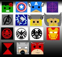 Avengers Pillows! by ChallengeSakana