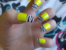 Yellow Zebras by KayleighOC