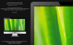 OSX 85% Opacity Black Bar by royalflushbeats