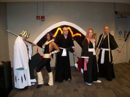 Bleach Cosplayers by S-Gevanni