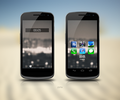 Galaxy Nexus v9 by zomx
