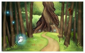 enchanted woods by Sigyn85