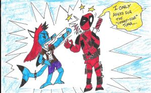 Deadpool, Eurydice And An Act Of Violence by astrolupine