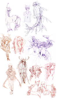 Sketch Dump 6.4.12 by Faelicia