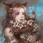 Miqo'te Bard ~Requiem for the Fallen~ by Athena-Erocith