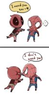 Spideypool2 by violet1025