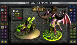 World of Warkart 04: Illidan by OmegaClarens