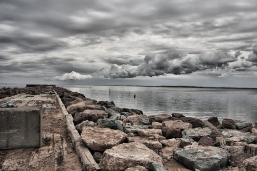 North Rustico Dock by SpencerCameron