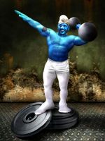 Hefty Smurf by ruggzz